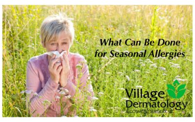 What Can Be Done for Seasonal Allergies