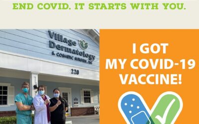 Get Vaccinated. End COVID. It Starts With You.